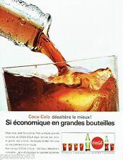 PUBLICITE ADVERTISING 106  1964  Coca-Cola  soda