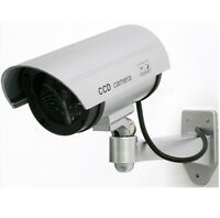 Telecamera sorveglianza falsa fake dummy security camera luce LED sicurezza