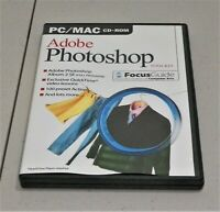 ADOBE PHOTOSHOP TOOL KIT FOCUS GUIDE CD-ROM FOR PC/MAC ISSUE 11 ~PRE-OWNED~