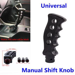 Gun Grip Knife Handle Manual Transmission Car Gear Shift Knob Shifter Kit Black