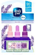 2 X Ambi PUR 3 Volution Refill 20ml Lavender