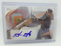 2017 Topps Brandon Belt Material Autograph Relic Card Auto Patch 4 /10