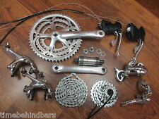 CAMPAGNOLO VELOCE 8 SPEED TRIPLE 175 52/42/32 GROUP COMPLETE BUILD KIT GRUOP