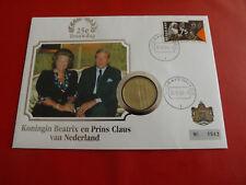 Niederlande Numisbrief 1994*Beatrix en Prins Claus* mit  2,5 Gulden 1994(ALB20)