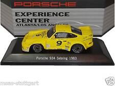 Musée Porsche 934 Sebring 1983 Expérience Centre Atlanta / L.A. Spark 1/43