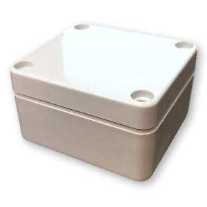 Bud Industries PN-1320 Electrical Enclosure Box, Outdoor Rated, Waterproof IP65