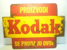GREAT  VINTAGE  KODAK   METAL  SIGN  EXTREMELY  RARE