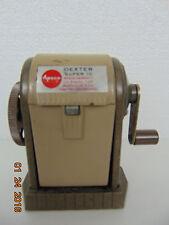 Vintage Six Hole Pencil Sharpener APSCO DEXTER SUPER 10  Cutter Assembly USA