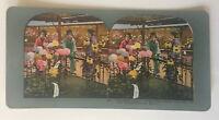 Geisha Girls Yokohama Japan #254 Colored Stereoview Cards