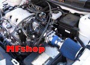 BLUE For 1999-2005 Pontiac Grand AM 3.4L V6 GT GT1 SE1 SE2 Air Intake System