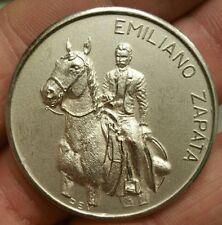 Mexico 1979 Centenario Natalicio Emiliano Zapata Silver Medal Tierra y Libertad