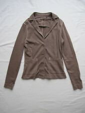 Marc O´Polo - Jersey-Blazer Gr. S, braun, NEU - NP 129,-