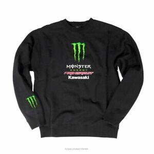 Pro Circuit PC0326-0240 Team Monster Kawasaki Crewneck Sweatshirt - XXXL 3XL