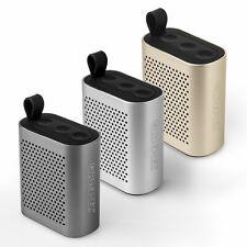 Caseflex Mini Wireless Bluetooth Portable Bluetooth Speaker HD Grey Gold Silver