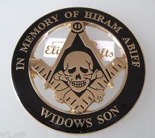 Masonic Master Mason Cut out Car  Emblem.