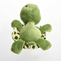 1 x Cute Big Eyes Green Tortoise Turtle Animal Baby Stuffed Toy 20CM Plush V3O0