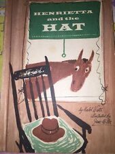 Vintage HENRIETTA AND THE HAT Mabel Watts horse  Farmer Flinders Parents 1962