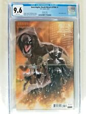 CGC 9.6 Legends Of The Dark Knight Death Metal #1 1:25 Variant First Robin King