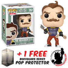 Funko Pop Hello Neighbor With Axe And Rope Exclusive + Free Pop Protector