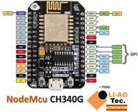 NodeMcu Lua CH340G Wireless Module WIFI IOT Development Board ESP8266 ESP-12E