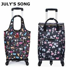 Trolley Grocery Shopping Cart Bag Wheels Rolling Foldable Handbag Waterproof Big