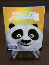 Dream Works Kung Fu Panda Blu-ray + DVD with RARE Slipcover. Factory Sealed