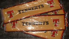 5 Brand New Tennent`s Very Large Bar Runners Bargain Deal