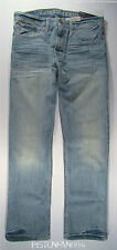 American Eagle Mens Light Whisker Relaxed Jeans 32x32 NWT