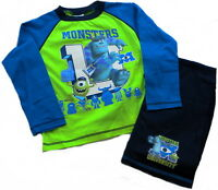 BOYS DISNEY MONSTERS INC UNIVERSITY PYJAMAS AGE 5 TO 10 YEARS BNWT