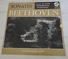 Beethoven Clair de lune Appassionata Pathetique Orazio Frugoni Piano VOX LP Orig