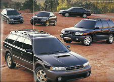 1998 SUBARU Brochure:FORESTER,OUTBACK,LEGACY,IMPREZA,GT,SPORT,RS,LIMITED,S,L,AWD