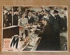 M fotobusta poster affiche lobby card Joseph Losey Bancone Bar Pub Police I22