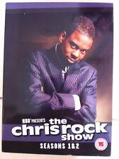 THE CHRIS ROCK SHOW - SEASONS 1 & 2 HBO Comedy Series UK DVD w/ Slipcover