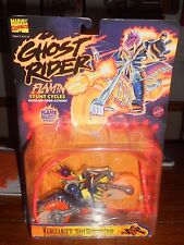 MARVEL COMICS GHOST RIDER FLAMIN STUNT CYCLES  VENGEANCE'S STEEL SKELETON CYCLE