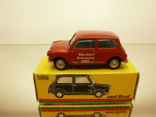 METOSUL - MORRIS MINI COOPER - RED 1:43 - GOOD CONDITION IN BOX - EXTREMELY RARE