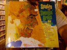 Frank Sinatra and Swingin' Brass LP sealed vinyl RE reissue
