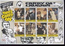 CARRY ON LAUGHLIN Commemorative Souvenir Sheet #2877 MNH - Grenada E43