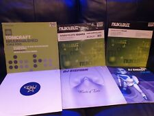 "trance and hard house 12"" vinyl record collection"