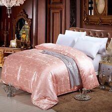 100 Silk Filled Quilt Doona Coverlet Duvet Comforter Blanket Bedspread Queen / Winter Weight