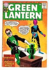 GREEN LANTERN #9 - Silver Age 1961 - Sinestro cover - Very Good/Fine condition