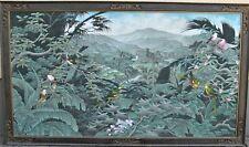 I M D Sukada Ubud  Bali   Einmaliges Landschaftsgemälde Berge Wald und Vögel
