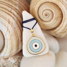 evil eye necklace, greek jewelry, evil eye jewelry, pendant
