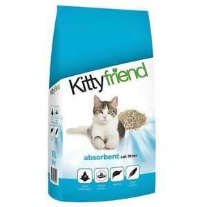 Kitty Friend Anti-Bacterial Non Clumping Cat Kitten Litter Odour Control 25L