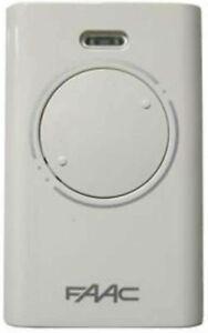 GENUINE FAAC XT2 433 SLH LR -  2 button remote fob - 433mhz (787007)