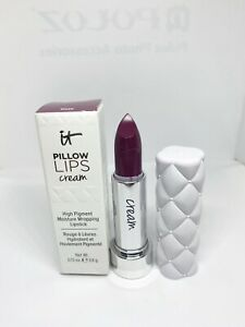 It Cosmetics Pillow Lips CREAM Lipstick Gaze Full Size 0.13 oz New In Box