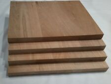 Cherry wood panels (4) - great for plaques or other projects 11 x 9 x 3/4