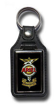ARIEL MOTORCYCLES FAUX LEATHER KEY RING / KEY FOB.VINTAGE ARIEL MOTORCYCLES.