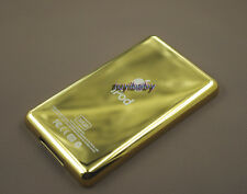 fantastic gold golden metal back housing case cover for ipod 5th gen video 30gb