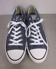 New Converse All Star Low Top Tennis Shoes Grey Gray Men s 11 Women s 13 0adbd756a