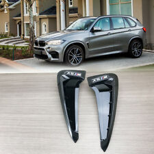 CARBON Type Marker Fit BMW F15 X5 Side Fender Air Wing Vent Trim